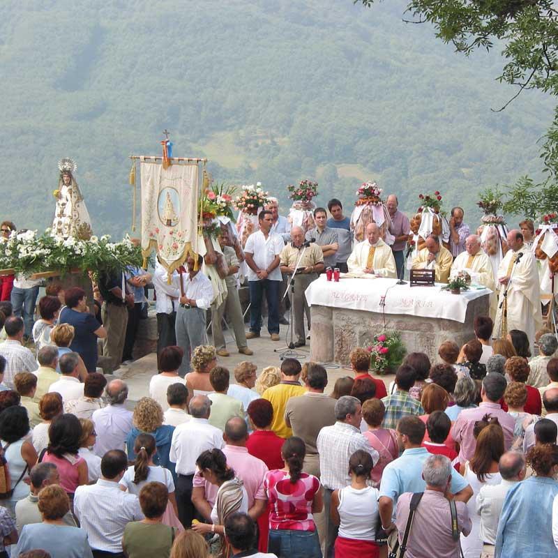 Fiesta de Nuestra Señora del Cébrano en Carrea