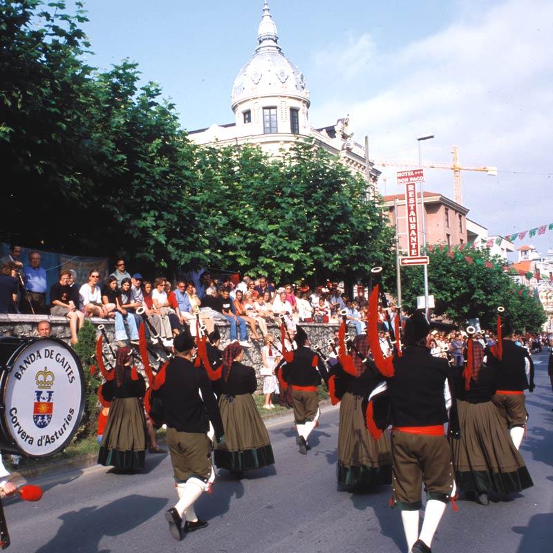 Fiesta de San Roque en Llanes
