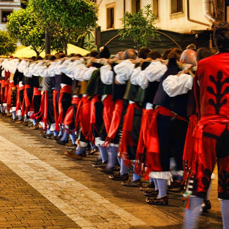Fiesta de Santa María Magdalena en Llanes