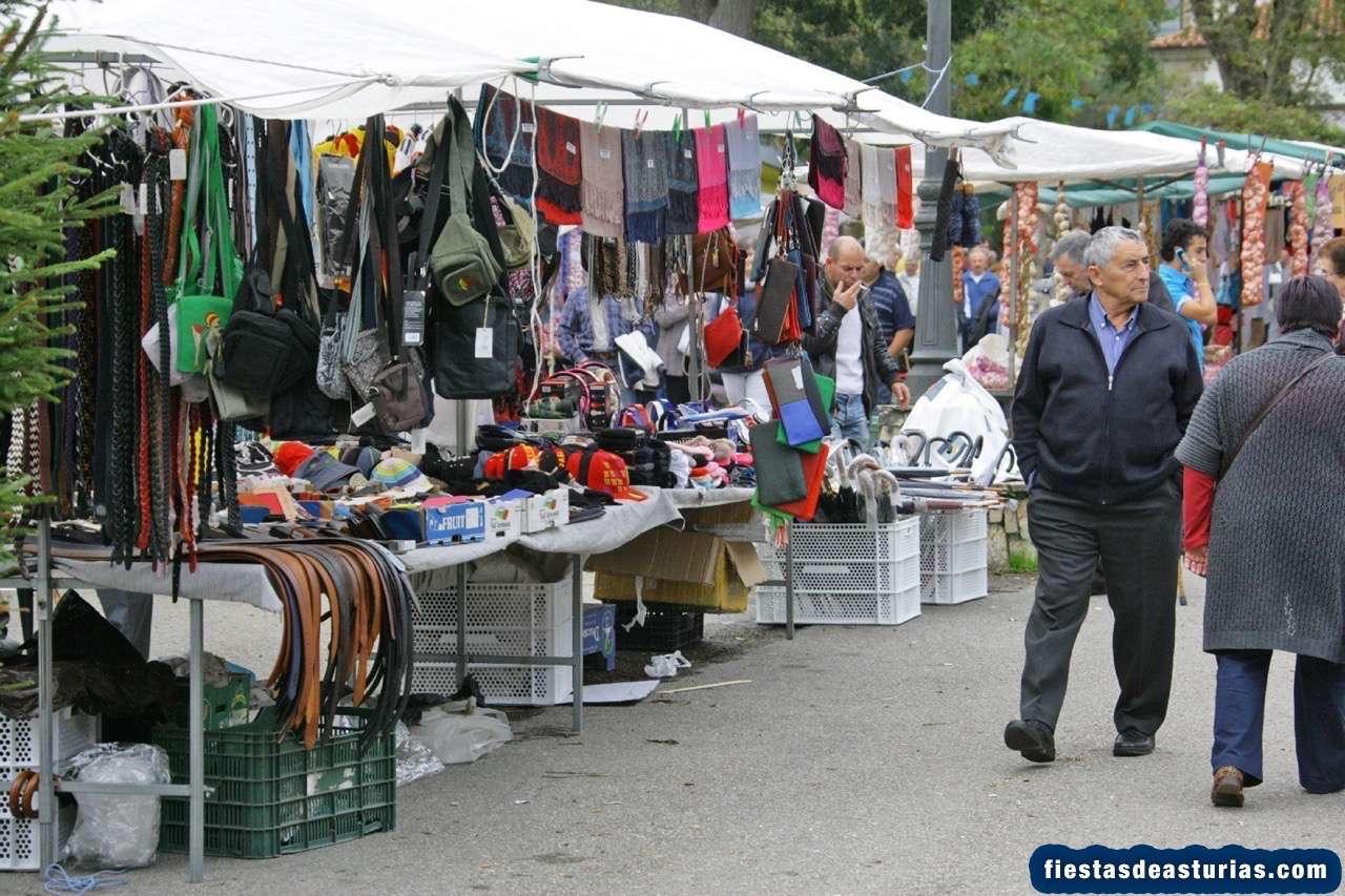 Mercado de San Martín de Luiña