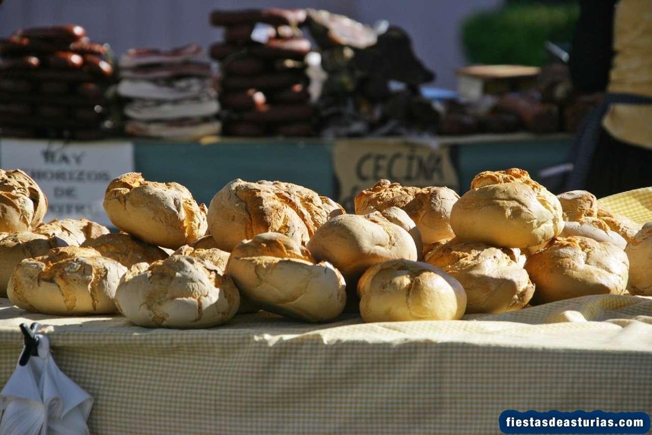 Mercado en Pola de Allande