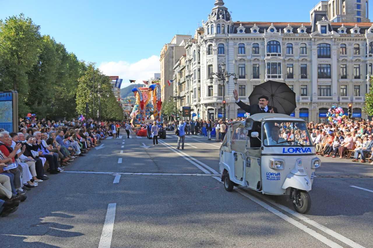 Día de América en Asturias en Oviedo