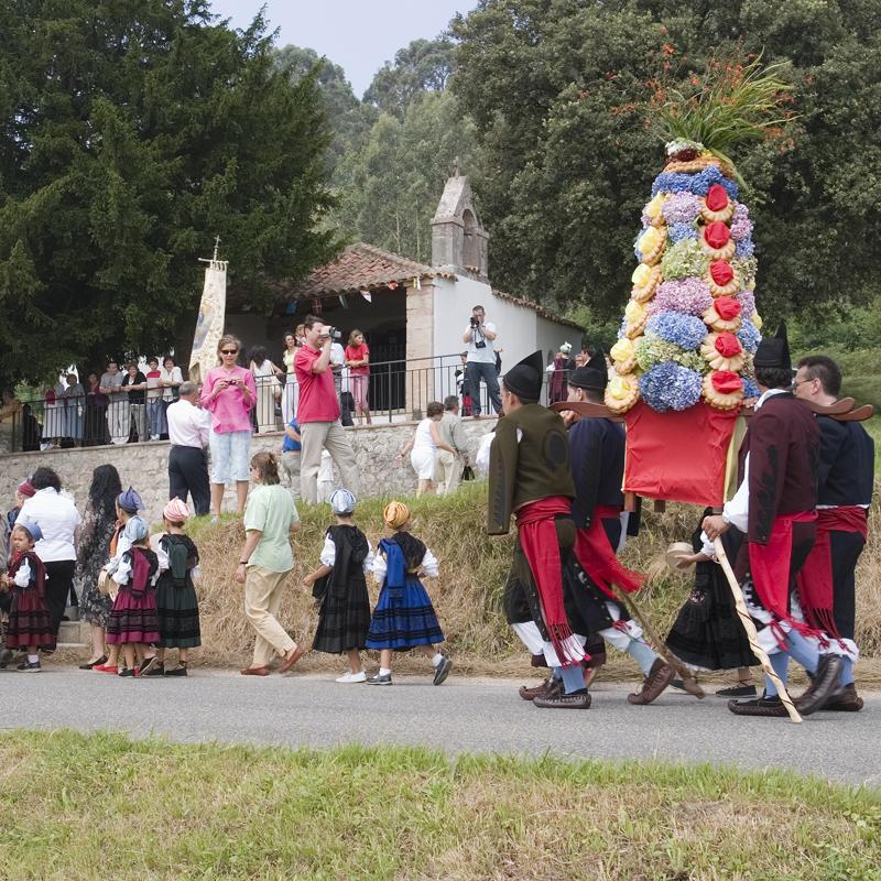 Fiesta de Nuestra Señora de Andrín en Llanes