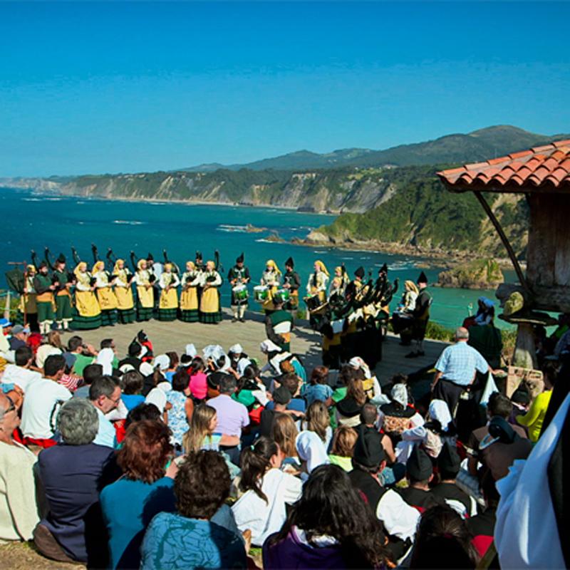 Fiesta de La Regalina en Valdés
