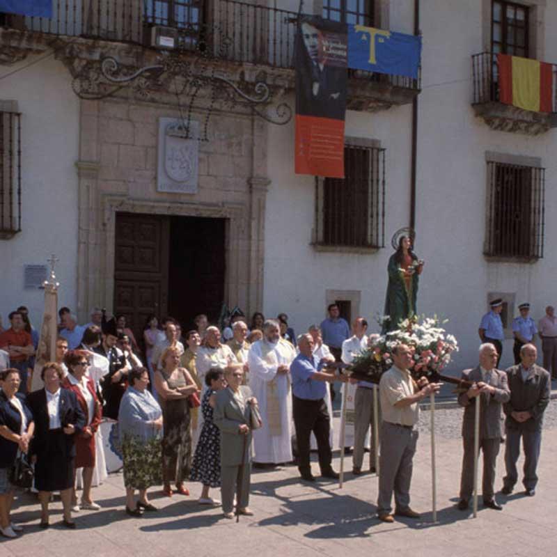 Fiesta de Santa María Magdalena en Cangas del Narcea